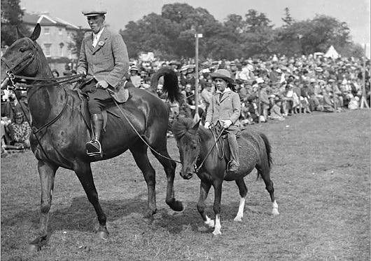 Equitazione Foto Storica